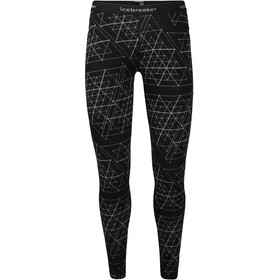 Icebreaker 250 Vertex Ice Structure Leggings Mujer, black
